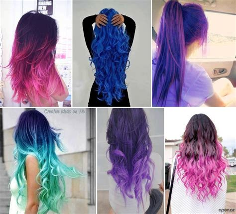 try hair color different hair colors