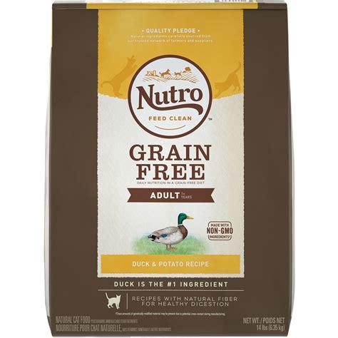 nutro grain free food nutro grain free duck potato cat 14 lb