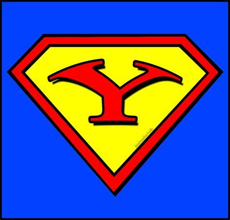superman logo letter y clipart best