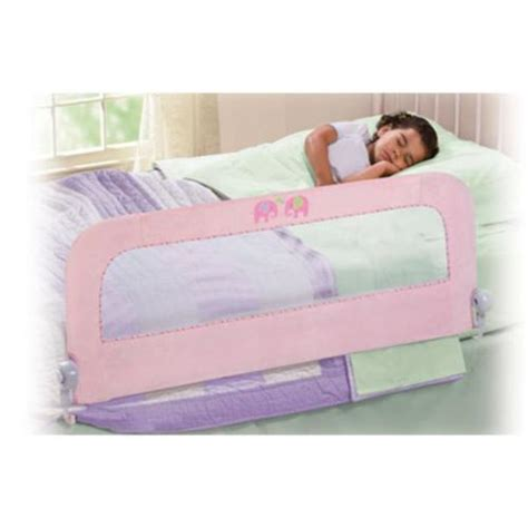 summer bed rail summer infant plush n single bed rail pink 12494a