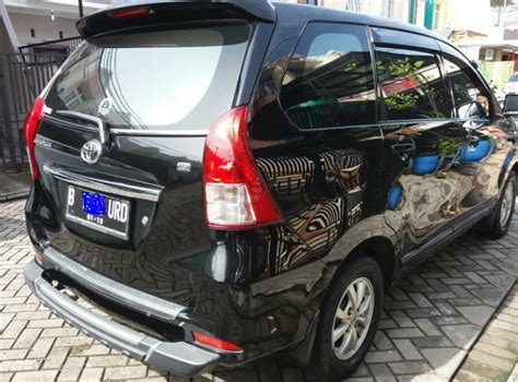 Toyota Avanza G Mt 2014 Hitam toyota all new avanza g 1 3 mt 2013 hitam mobilbekas