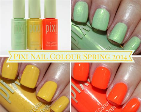 jessica coral symphony collection spring 2014 of life and lacquer jessica nails spring 2014 colours pixi nail colour for