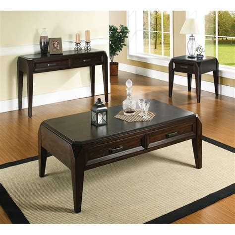 dark cherry sofa table wellington dark cherry sofa table with 2 drawers dcg stores