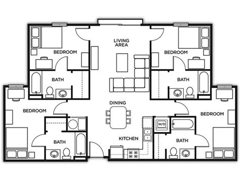 college dorm floor plans marietta housing kennesaw state university housing u