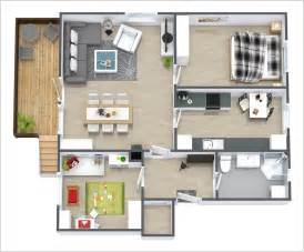 Design Apartment Layout 10 Awesome Two Bedroom Apartment 3d Floor Plans