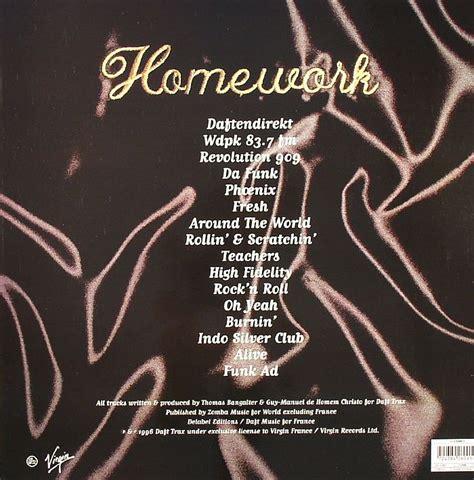 daft punk homework daft punk homework vinyl at juno records