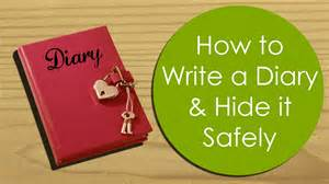 How To Write A Play Name In An Essay by How To Write Hide A Diary