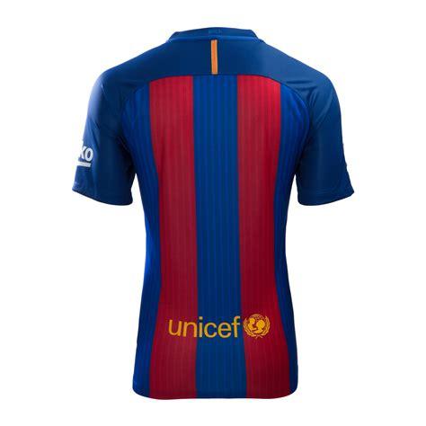 barcelona qatar airways jersey fc barcelona home jersey 2016 17 with qatar airway sponsor