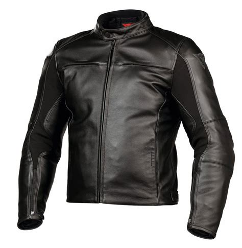 dainese  razon pelle motosiklet ceketi siyah deri
