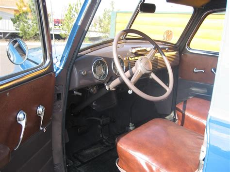 1949 Chevy Interior by 1949 Chevrolet Panel Truck 70926
