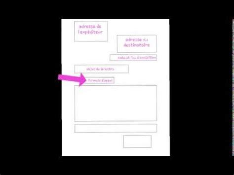 Présentation De La Lettre Officielle Les Codes De La Lettre Officielle