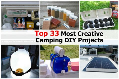 top diy projects top 33 most creative cing diy projects