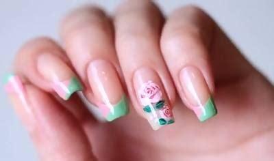 video membuat nail art cara membuat nail art bunga mawar