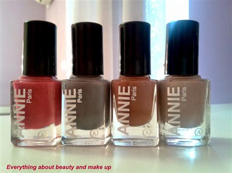 Everything About Beauty And Makeup Annie Nail Polishes