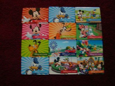 Are Disney Gift Cards Reloadable - disney collectibles hq price guide
