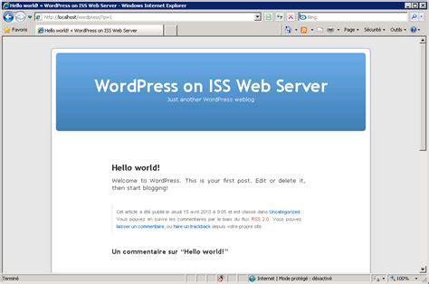 L Web Server by Url Rewriting Avec Sous Iis 183 Nicolabricot S