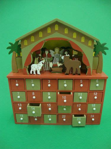 wooden nativity advent calendar with drawers nativity advent calendar christmas nativity and nativity