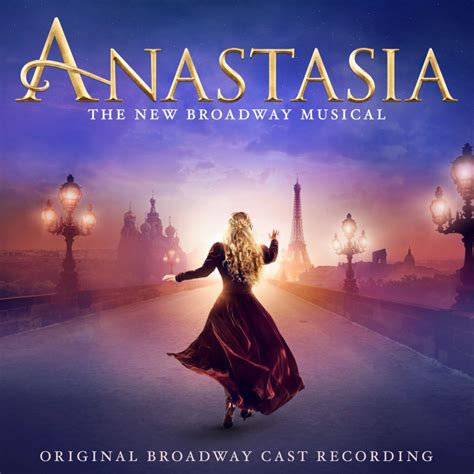 upcoming cast recordings playbill anastasia the broadway musical cd broadway cds dvds