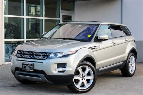 certified pre owned land rover certified pre owned 2013 land rover range rover evoque