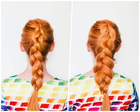 how to make a good hairstyle with thick hair for boys the secret to thicker braids a beautiful mess