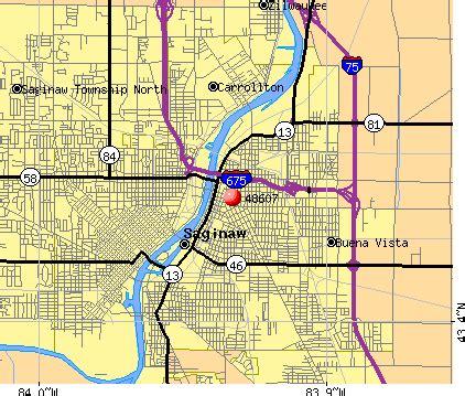 map of saginaw mi saginaw mi zip code map zip code map
