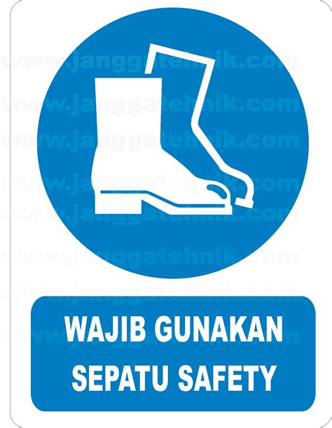 Sepatu Safety Forklift safety sign jual safety sign