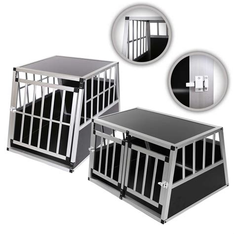 Pet Cargo Kadang Portable aluminium transport pet cage car travel box crate portable kennel portable ebay