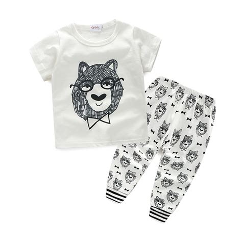 Printed Boy style letter printed casual baby boy babyshoppz