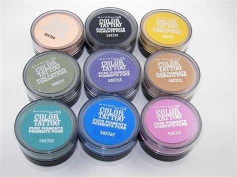 maybelline color pigments maybelline eye studio color pigments eye
