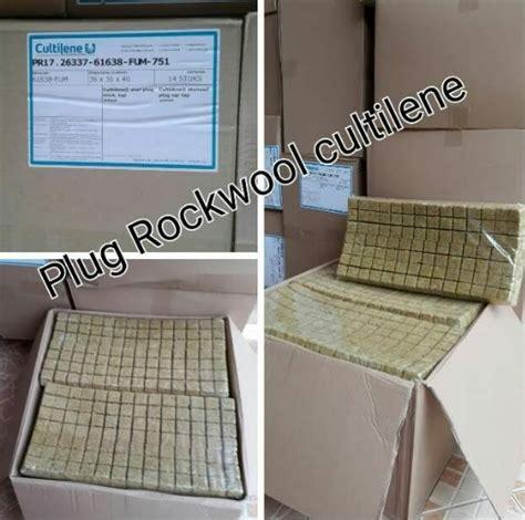 Rockwool Sheet rockwool sheet cultilene 98 plugs siap pakai