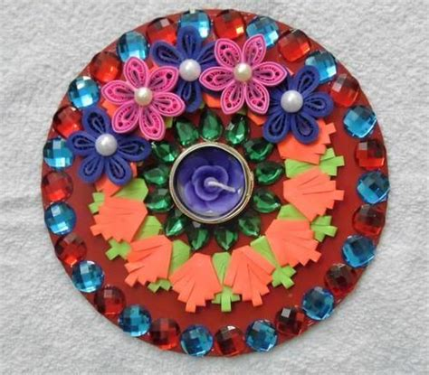decorative diya on paper diya decoration images on paper diy do it your self