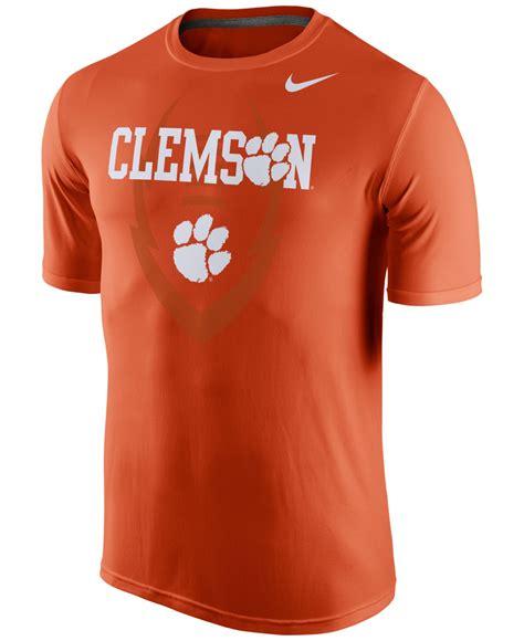 Mens Nike Legend Ncaa All Team Colour Dri Fit Size 2xl lyst nike s clemson tigers dri fit t shirt in orange