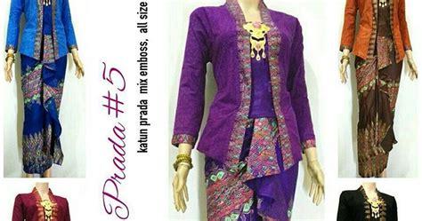 Termurah Anisa Blouse model rok lilit blouse batik anisa prada