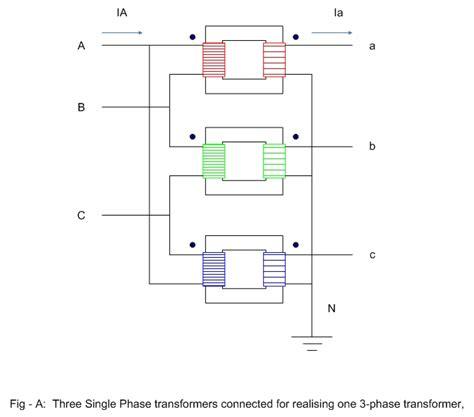 electrical single phase transformer wiring diagram