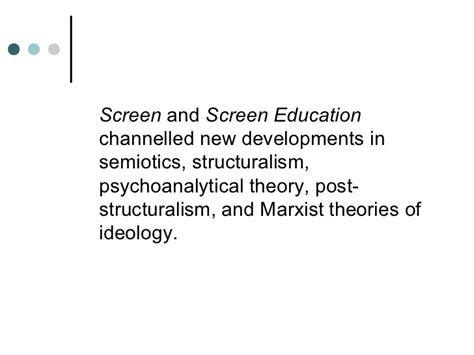 Masterman Brief media education a brief history
