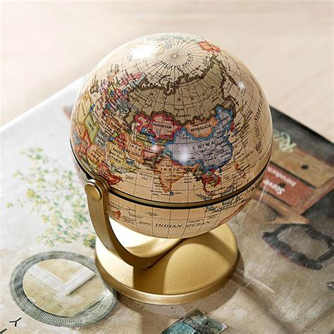 Handmade Globes - sell handmade retro world globe tellurion map of the