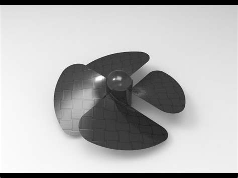 how to draw a boat propeller in solidworks solidworks how to design propeller in solidworks using