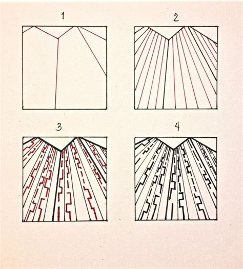 easy zentangle pattern ideas step by step 17 best images about zentangle to do list on pinterest