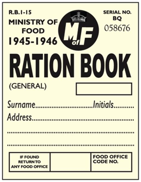 rationing book template dps screenprint products