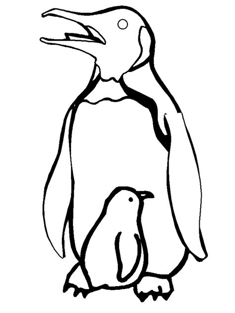 coloring pages of penguins to print free printable penguin coloring pages for kids