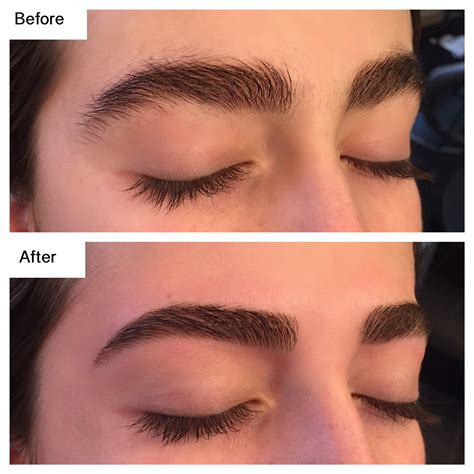 eyebrow tattoo before and after brow shape tint before after eyebrow doctor