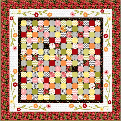 Patio Quilt Pattern Free Click Image To Enlarge