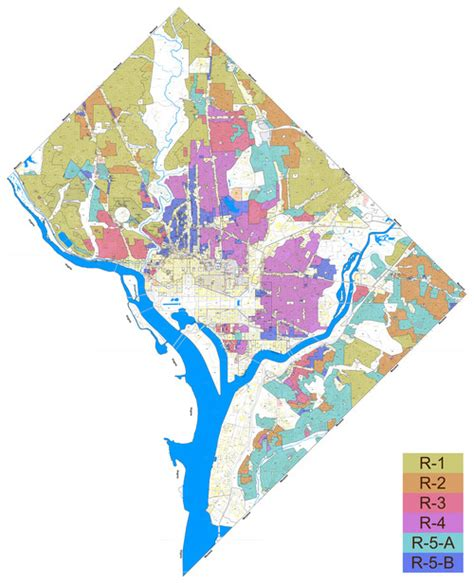 dc zoning map rewritten dc zoning code corrects past mistakes greater greater washington