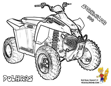 4 Wheeler Coloring Pages by Awesome Atv Coloring Free Atv 4 Wheeler Atv