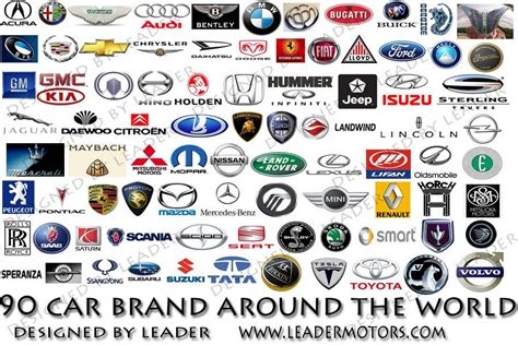 car logos  names   list car symbols  car brandscar