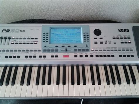 Keyboard Korg Pa50sd Second korg pa50sd image 748044 audiofanzine