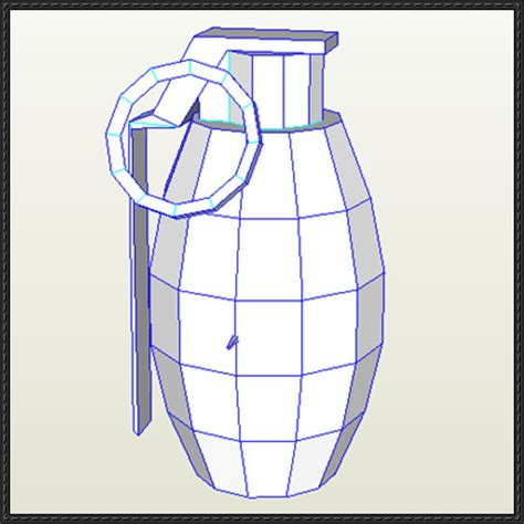 Papercraft Grenade - papercraftsquare new paper craft a simple grenade