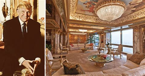donald trump gold penthouse donald trump white house trump tower