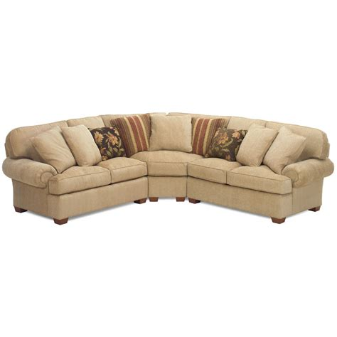 Comfy Sectional by Temple 3100 Series Comfy Sectional Discount Furniture At