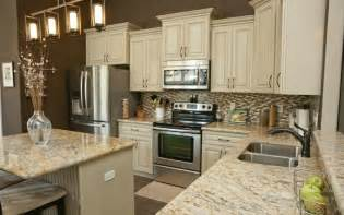 White Cabinets Granite Countertops Kitchen Granite Kitchen Countertops For That Exquisite Look